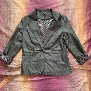 Maurices One Button Blazer Jacket Like New